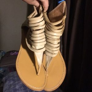 Leather sole Sandals